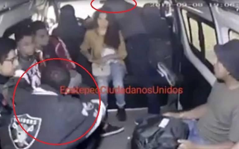 Otro asalto a combi en Ecatepec