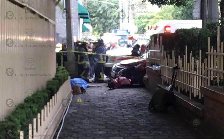 Mujer pierde la vida al ser atropellada en alcaldía Coyoacán