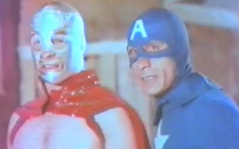 El día en que El Santo y Capitán América enfrentaron a Spider-Man