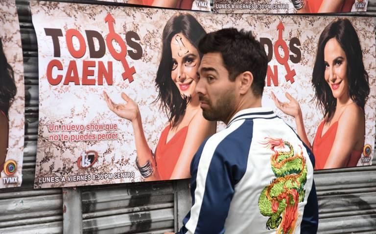 Martha Higareda y Omar Chaparro vuelven al cine con Tod@as caen