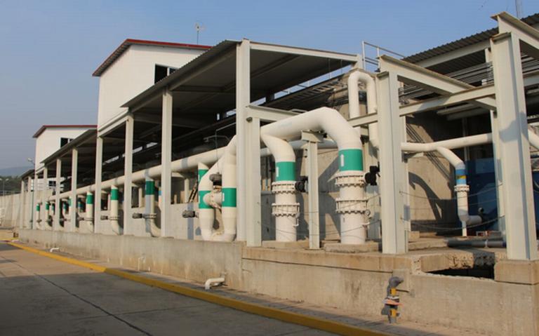 Paro total en Plantas Potabilizadoras, por trabajos de mantenimiento de CFE