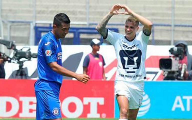 Juan Manuel Iturbe salva a los Pumas y saca el empate con Cruz Azul