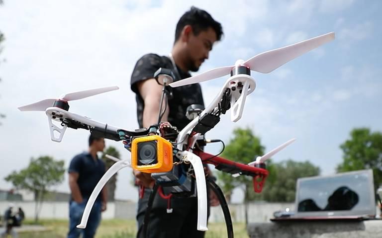 Crea Politécnico dron de rescate en zonas de desastre