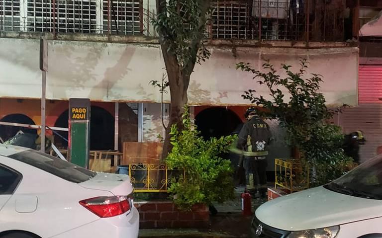 Explosión en restaurante en Río Lerma deja tres heridos