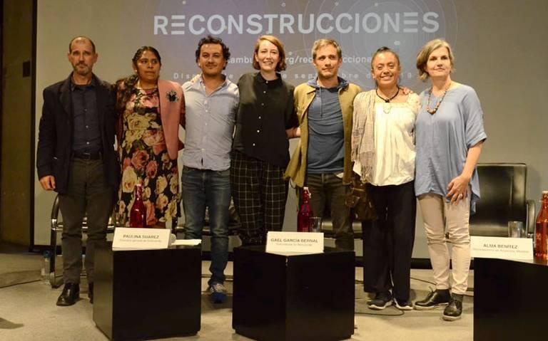 Con documental, Gael García Bernal muestra la reconstrucción del 19-S
