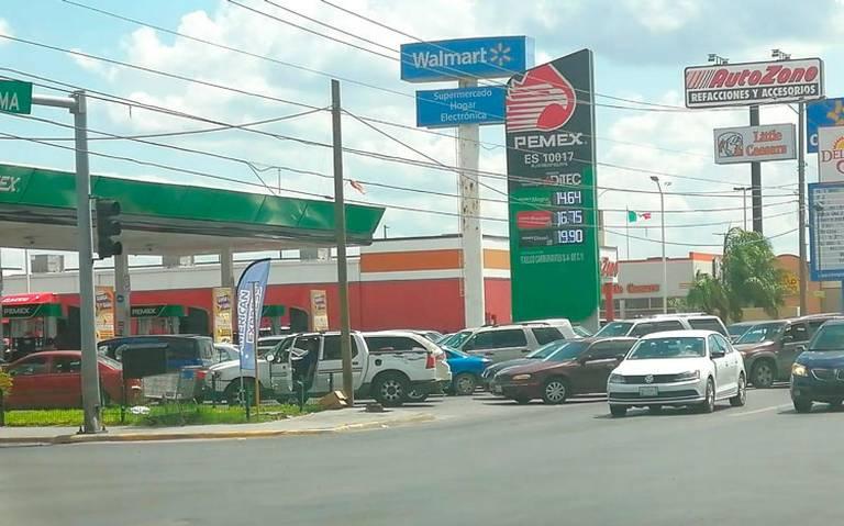 Reabren gasolineras suspendidas por no despachar combustible al Ejército en Nuevo Laredo