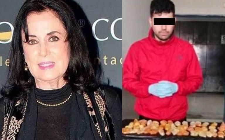 Detienen en Perú al nieto de la actriz Helena Rojo con dos kilos de cocaína