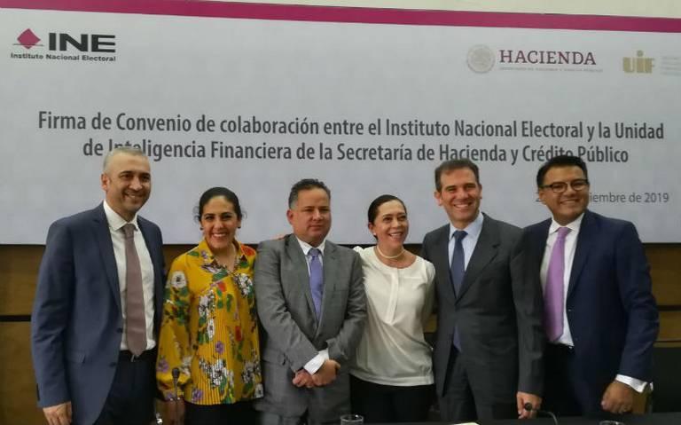 INE y UIF se unen para combatir recursos ilícitos en campañas electorales