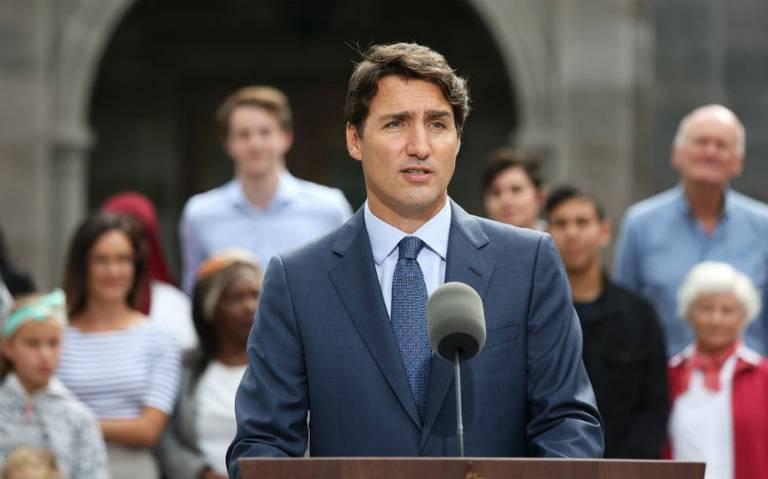 Trudeau anuncia disolución del Parlamento e inicia campaña de reelección en Canadá