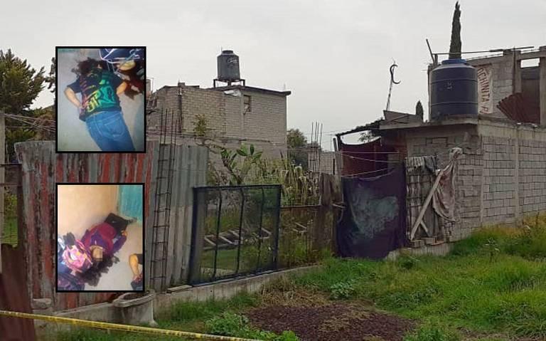 Asesinan a familia dentro de su domicilio en Chalco