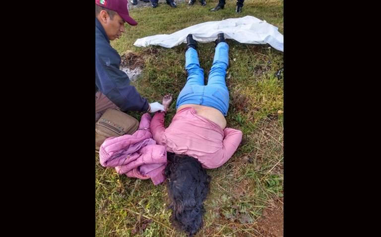 Localizan cadáver de mujer en Teotihuacán, con signos de agresiones en el rostro
