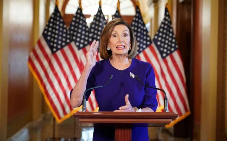 Pelosi anuncia inicio de juicio político contra Trump