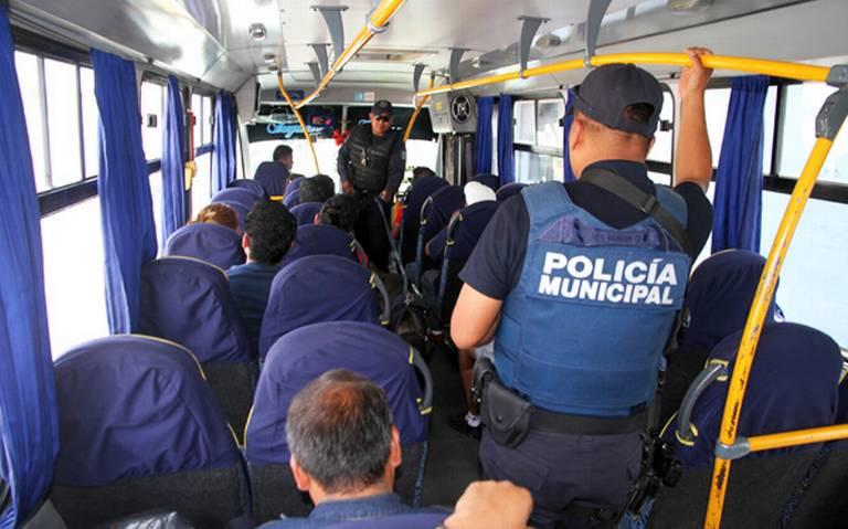 Crece 55 % robo con violencia a transporte público en Puebla