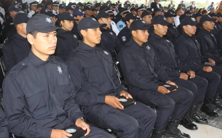 Hasta 27 años puede estar sumida Puebla en déficit de policías