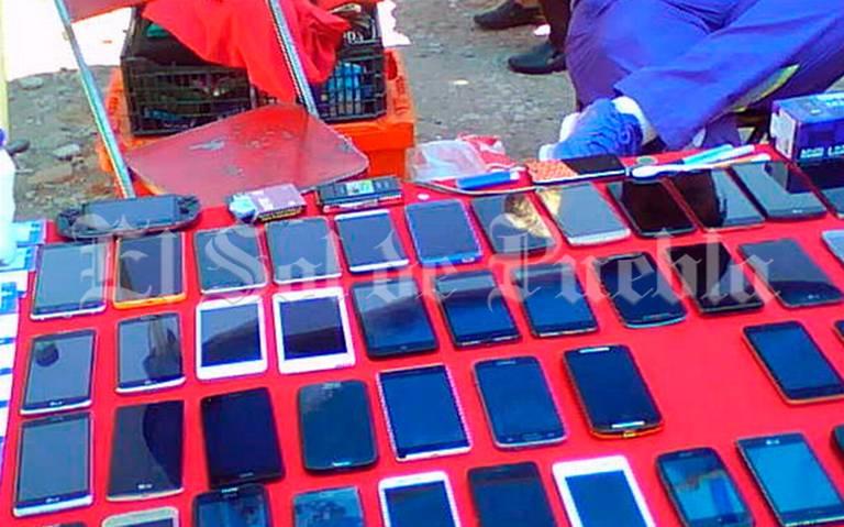 Aprueban prohibir venta de celulares en vía pública de Puebla capital