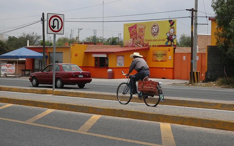 Sin planes la conexión de ciclovías entre Mexquitic y SLP