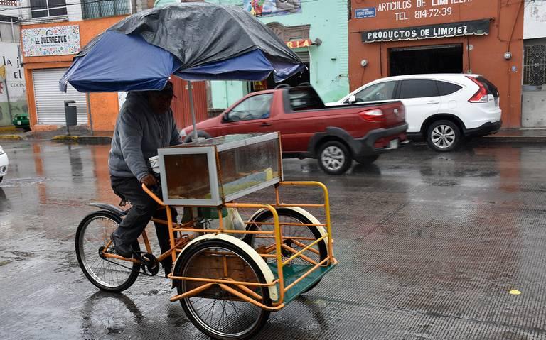 Alerta PC sobre lluvias en diversos puntos del Estado