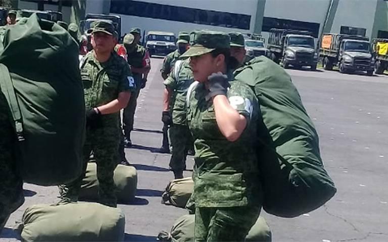 """""""Militares no sustituirán a policías"""", aclara SSPC"""