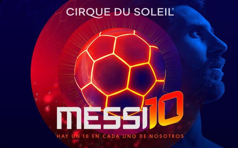 Barcelona presentará show sobre Messi del Cirque du Soleil