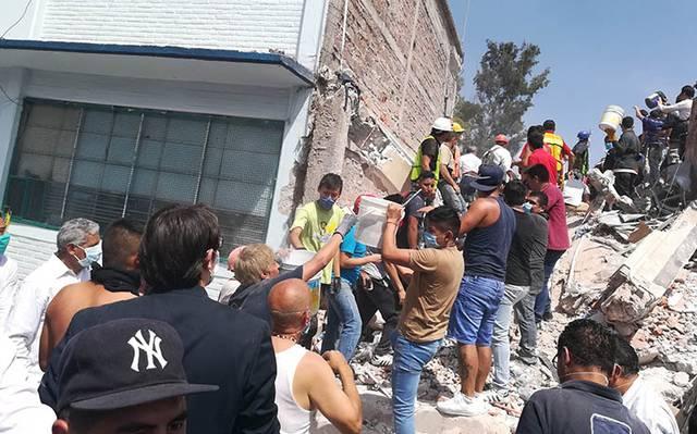Dos años después, las huellas del sismo siguen ahí