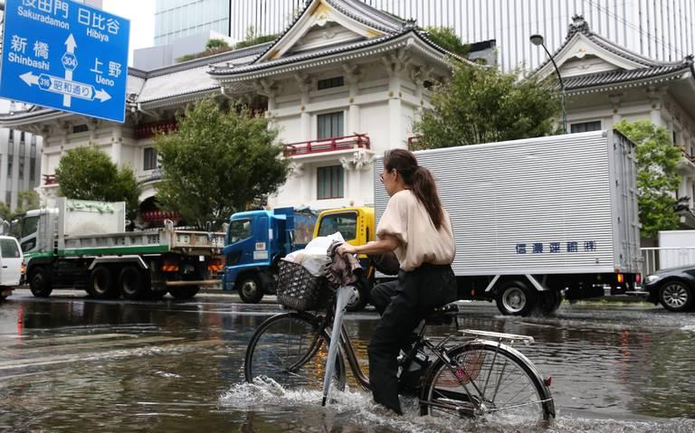 Dos muertos y decenas de heridos en Tokio tras el paso del tifón Faxai