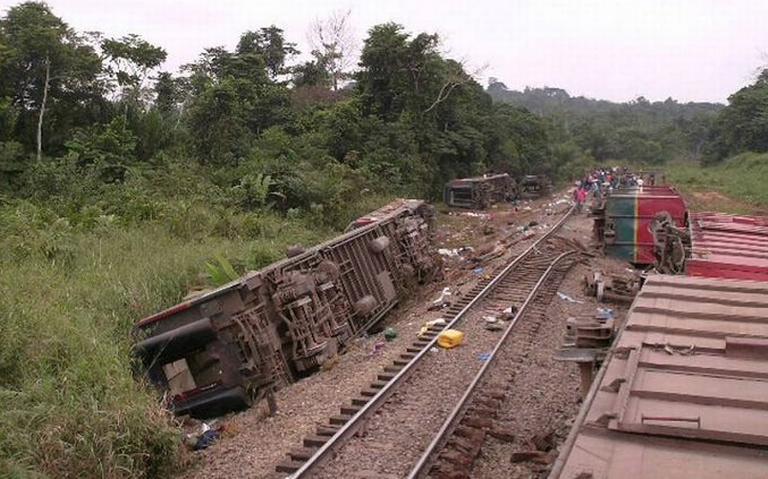 Accidente de tren deja al menos 50 muertos en República del Congo