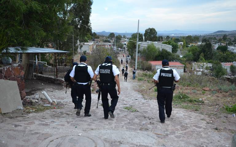 Menos policías y patrullas por recorte federal