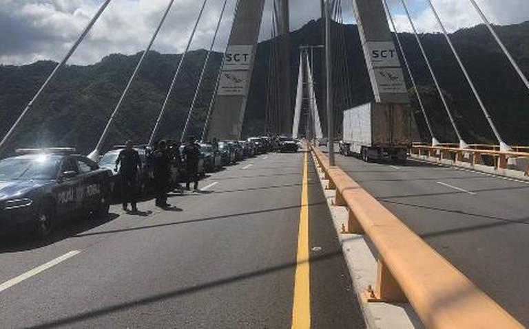 Brindan seguridad en la carretera Mazatlán-Durango