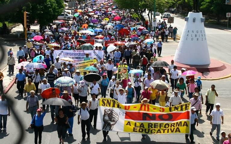 La CNTE Podría definir el paro indefinido de labores