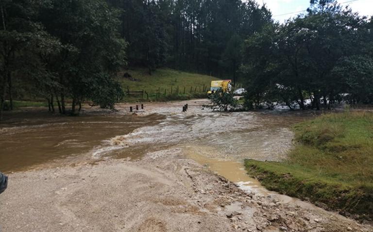Afectaciones por desbordamientos de ríos en San Cristóbal