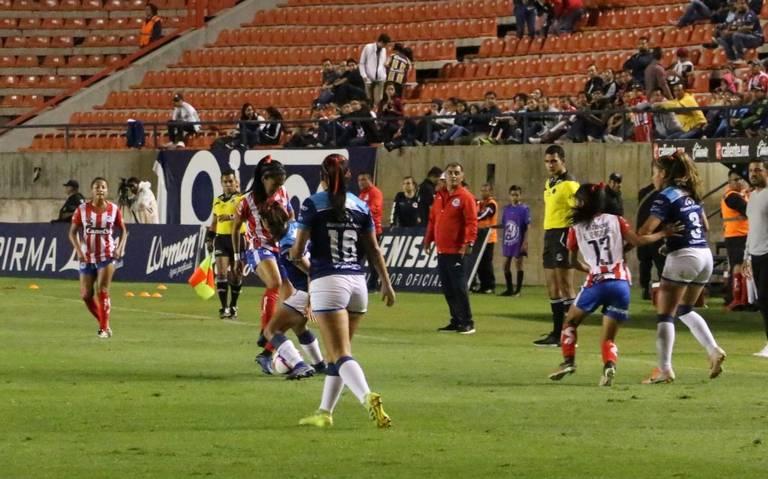 Aburrido empate entre San Luis y Puebla en la Femenil MX