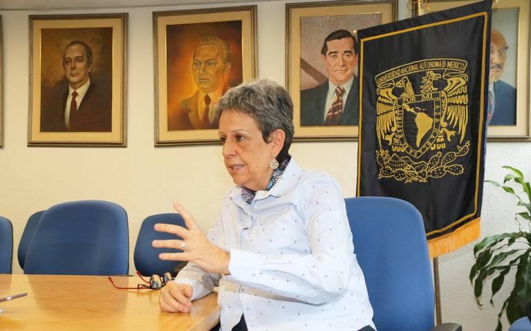 La UNAM no es contrapeso al poder: Angélica Cuéllar Vázquez