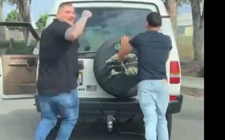 ¡Campeón en las calles! Andy Ruiz ayuda a desconocido a empujar su camioneta