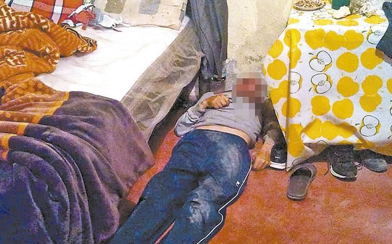 Sanguinario crimen cometen contra un hombre en su domicilio