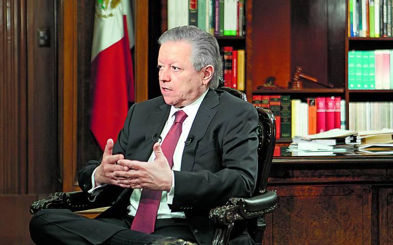Arturo Zaldívar asegura que Calderón amenazó y presionó a la Suprema Corte