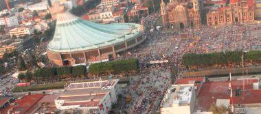 Avanza rescate en la Basílica de Guadalupe