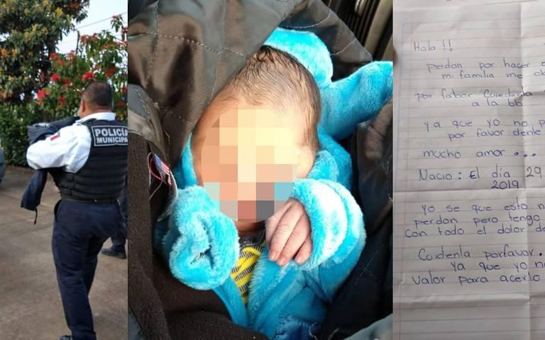 Abandonan a bebé en una cajita, dejan sentido mensaje para que lo cuiden