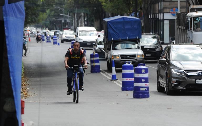 En el primer día, invaden los bicicarriles de prueba