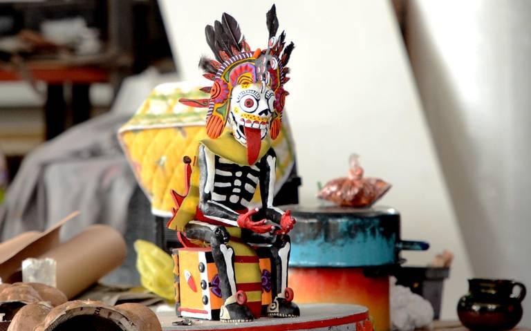 Mictlantecuhtli, el señor mexica de los muertos, la nueva atracción en Desfile de Día de Muertos