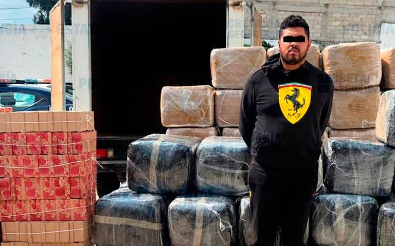 Descubren 600 kilos de droga en camión de carga en el Edomex
