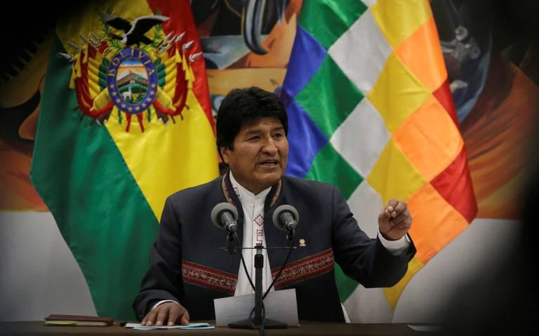 Evo Morales se declara ganador en primera vuelta de las presidenciales en Bolivia