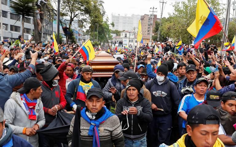 Indígenas alistan manifestaciones más radicales en Ecuador