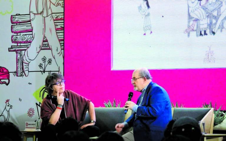 Trump es una verdadera catástrofe: Salman Rushdie