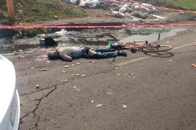 Muere ciclista tras ser atropellado en la Central de Abastos