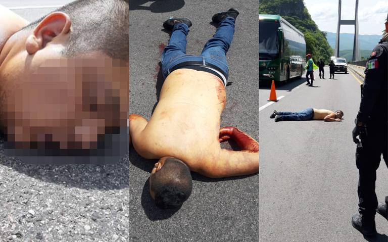 Abandonan cuerpo sin vida en Autopista del Sol