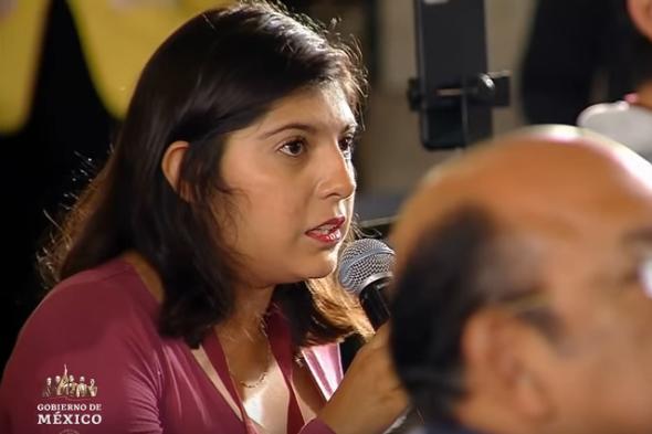 """""""No se puede contemplar como opción que los medios dejen de cubrir Presidencia"""": Gabriela Jiménez  reportera de El Sol de México"""