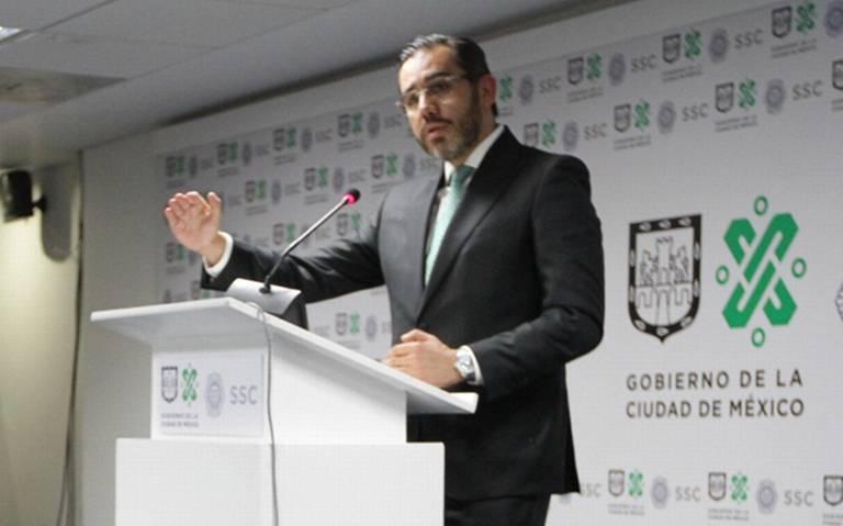 Jesús Orta deja Secretaría de Seguridad de la CDMX