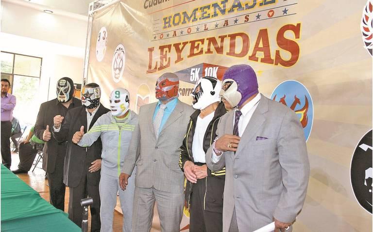 Mil Máscaras, Canek y Matemático recibirán homenaje