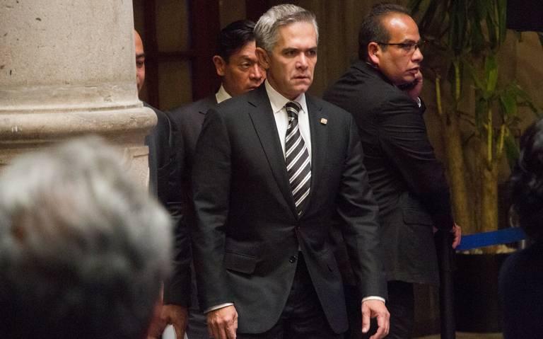 Contraloría capitalina sigue investigando a exfuncionarios de Mancera