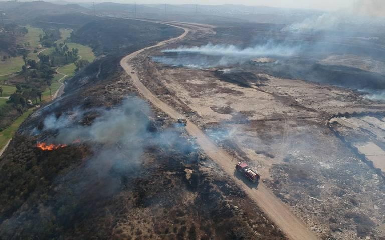 Incendios en Baja California, a punto de ser controlados: gobernador